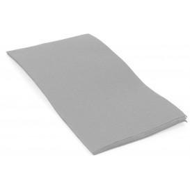 Papierservietten Grau 40x40cm 1/8 2-lagig (50 Stück)