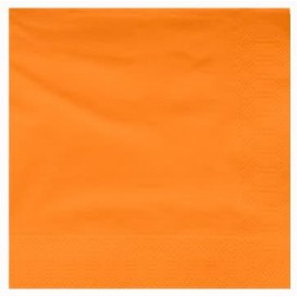 Papierservietten Orange 2L 40x40cm (50 Stück)