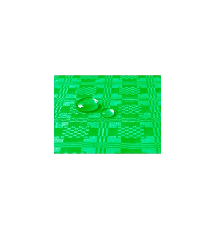 Tischdecke wasserdicht grün Kiwi 1,2x5 Meterware (10 Einh.)