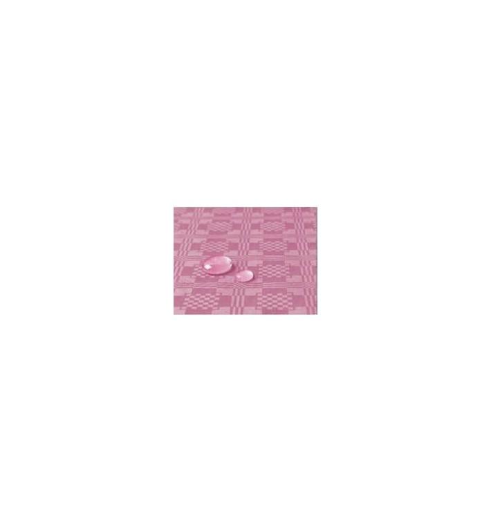 Tischdecke wasserdicht pink 1,2x5 Meterware (10 Stück)