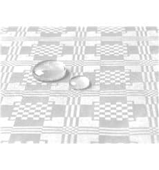Tischdecke wasserdicht weiß 5x1,2 Meterware (1 Einh.)
