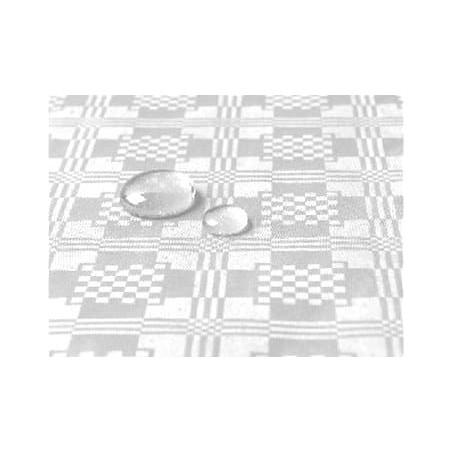 Tischdecke wasserdicht weiß 5x1,2 Meterware (10 Einh.)