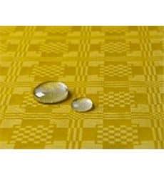Tischdecke wasserdicht gelb 5x1,2 Meterware (1 Einh.)