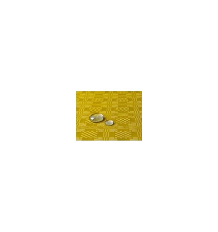 Tischdecke wasserdicht gelb 1,2x5 Meterware (10 Einh.)