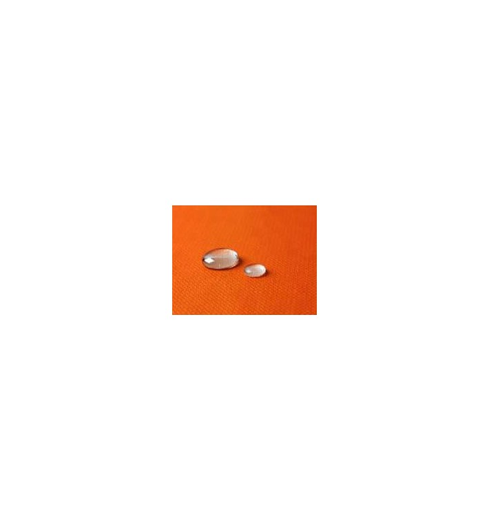 Tischdecke wasserdicht orange 1,2x5 Meterware (10 Einh.)