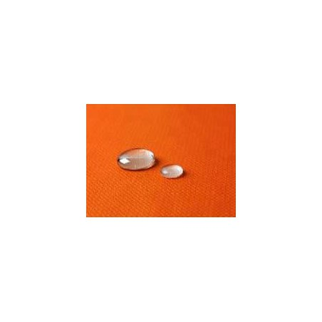 Tischdecke wasserdicht orange 5x1,2 Meterware (10 Einh.)