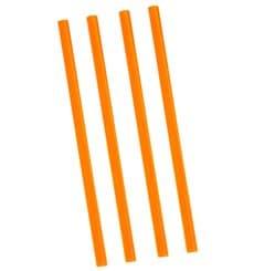 Trinkhalme einzeln verpackt orange Ø8mm 22cm (5000 Stück)