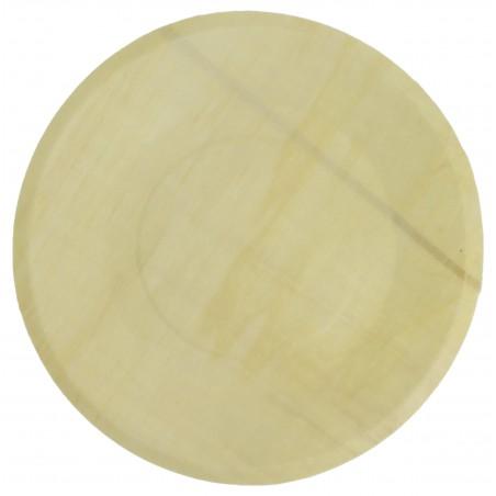 Teller aus Holz rund Ø21,5cm (250 Stück)