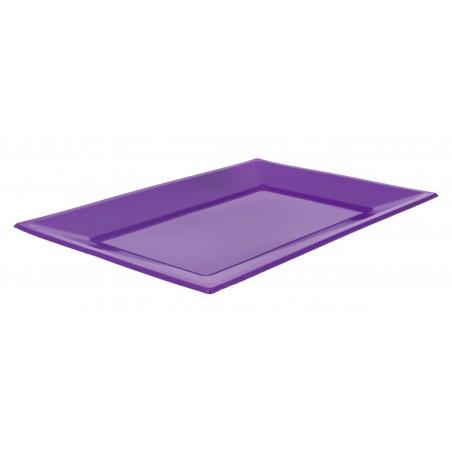 Plastiktablett Flieder 330x225mm (3 Stück)