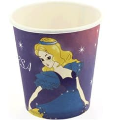 Kartonbecher Design Prinzessin 200ml (500 Stück)