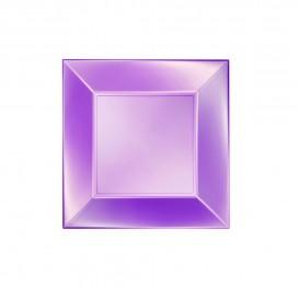 Plastikteller Flach Violett Nice Pearl PP 180mm (150 Stück)