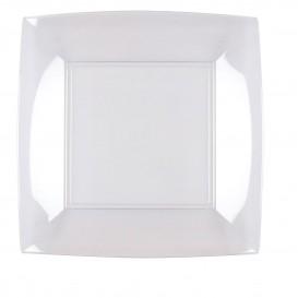 Plastikteller Flach Transp. Nice PS 230mm (150 Stück)
