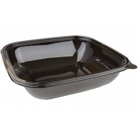 Plastikschale Schwarz PET 1000ml 190x190x50mm (50 Stück)