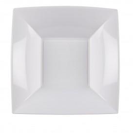 Plastikteller Tiefe Weiß Nice PP 180mm (150 Stück)