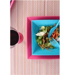 Plastikteller Flach Fuchsia Nice PP 290mm (144 Stück)