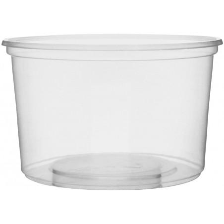Verpackungsbecher aus Plastik 300ml Ø10,5cm (50 Stück)