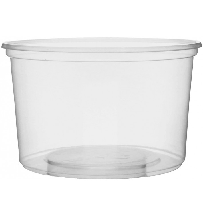 Verpackungsbecher aus Plastik 300ml Ø10,5cm (1000 Stück)