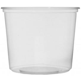Verpackungsbecher aus Plastik 400ml Ø10,5cm (50 Stück)
