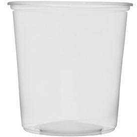 Verpackungsbecher aus Plastik 500ml Ø10,5cm (1.000 Stück)