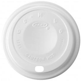 "Plastikdeckel PS ""Cappuccino"" Weiß 14Oz/410 ml Ø8,9cm (100 Stück)"