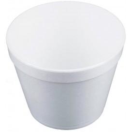 Styroporschale weiß 24OZ/710ml Ø12,7cm (25 Stück)