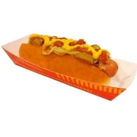 Hot-Dog Schachtel 17x5,5x3,8cm (25 Stück)