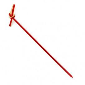 Bambusspieße Schleife Rot 180mm (200 Stück)