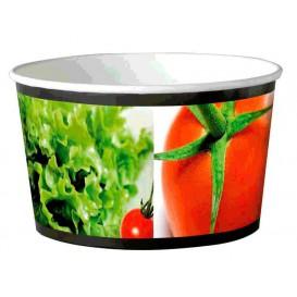 Salatschüssel aus Pappe groß 1030ml (40 Stück)
