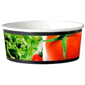 Medium Salatschüssel aus Pappe 775ml (45 Stück)