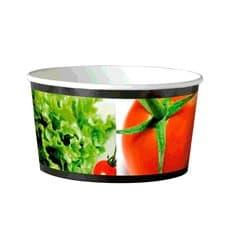 Kleine Salatschüssel aus Pappe 635ml (45 Stück)