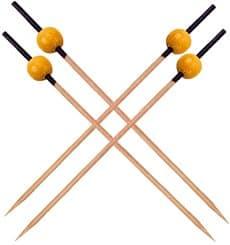 Bambusspieße Schwarz und Gelb 120mm (5000 Stück)