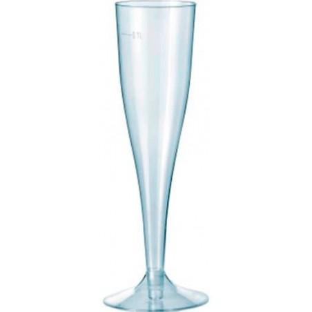 Sektflöte Plastik Spritzguss 115ml (10 Stück)