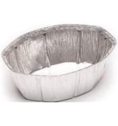 Aluschalen oval für Hähnchen 2.400ml (500 Stück)