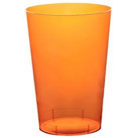 Becher aus Hartplastik Moon Orange Transp. PS 230ml (50 Stück)