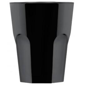 WiederverwendbaresGlas SAN Rox Schwarz 300ml (8 Stück)