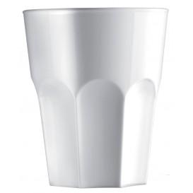 Plastikbecher Weiß SAN Ø85mm 400ml (5 Stück)