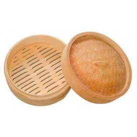 Verpackung aus Bambu Dim Sun Ø8x6cm (10 Einheit)