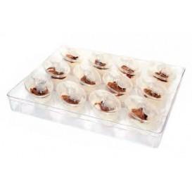 Kit Plastiktablett Kapazität 12 plastikschale Ovale (1 Einheit)