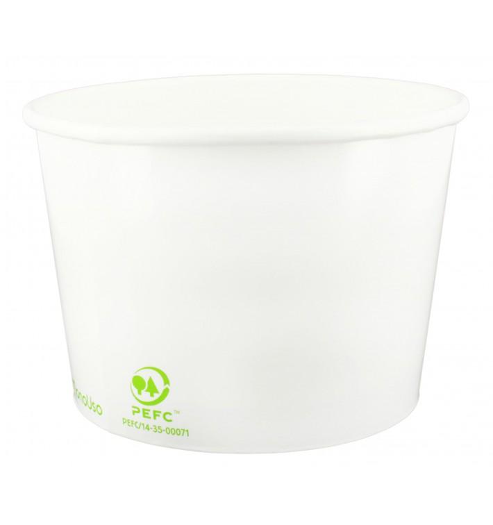 Bio Eisbecher aus Pappe 260ml (1320 Stück)
