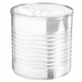 Konservendose Plastik Transparent PS 220ml Ø7,4x7cm (100 Stück)