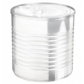 Konservendose Plastik Transparent PS 220ml Ø7,4x7cm (20 Stück)