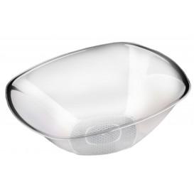 Plastikschale Rund Transparent Ø277mm Square PS 3000ml (3 Stück)