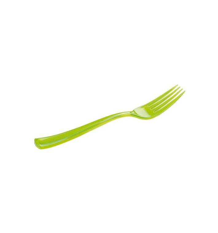 Plastikgabel grün 190mm (10 Stück)