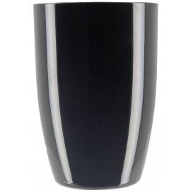 Plastikbecher Verkostung Schwarz 150ml (12 Stück)