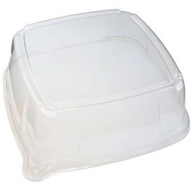 Plastikdeckel Transparent für Tablett 27x27x8cm (25 Stück)