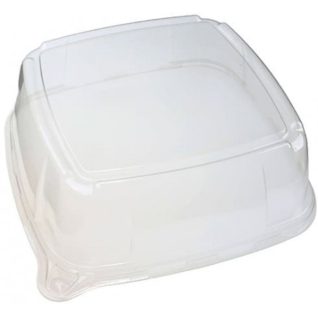 Plastikdeckel Transparent für Tablett 30x30x9cm (25 Stück)