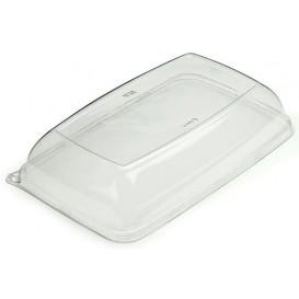 Plastikdeckel Transparent rechteckig extra-Stark (50 Stück)