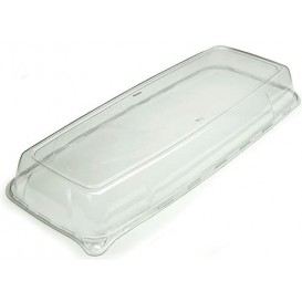 Plastikdeckel Transparent rechteckig extra-Stark (5 Stück)
