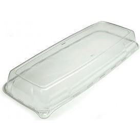 Plastikdeckel Transparent rechteckig extra-Stark (25 Stück)