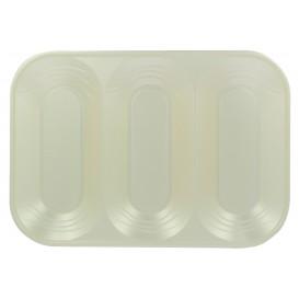"Plastiktablett PP ""X-Table"" 3C Perle 330x230mm (2 Stück)"